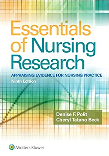Essentials of Nursing Research : Appraising Evidence for Nursing Practice, 9th Edition